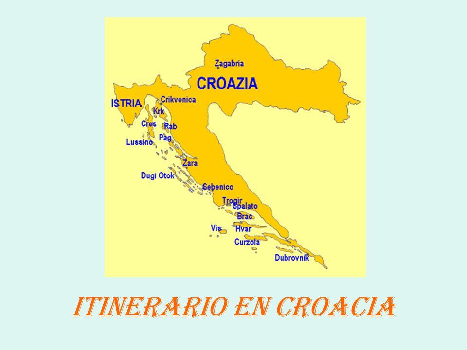 ITINERARIO EN CROACIA