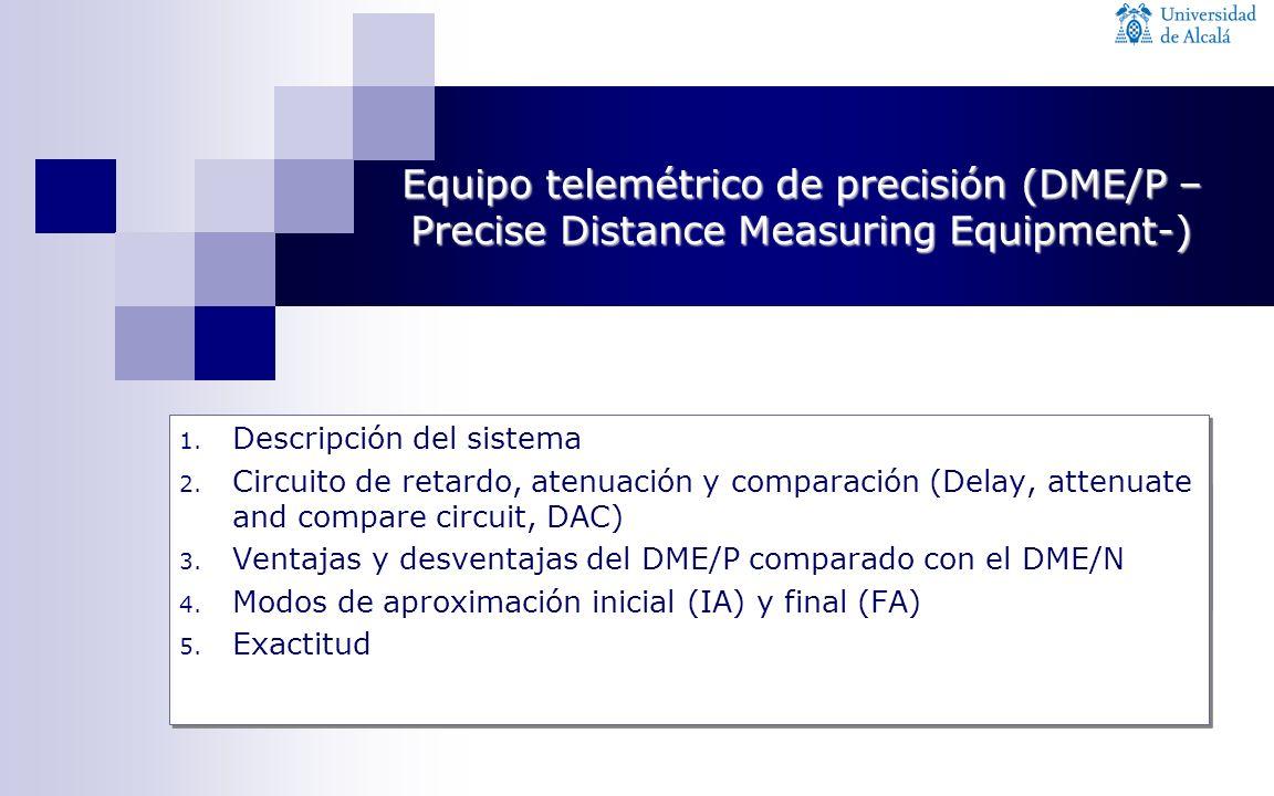 1. Descripción del sistema 2. Circuito de retardo, atenuación y comparación (Delay, attenuate and compare circuit, DAC) 3. Ventajas y desventajas del