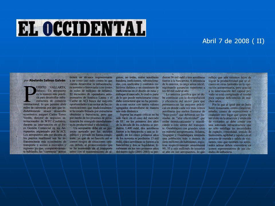 Abril 7 de 2008 ( II)
