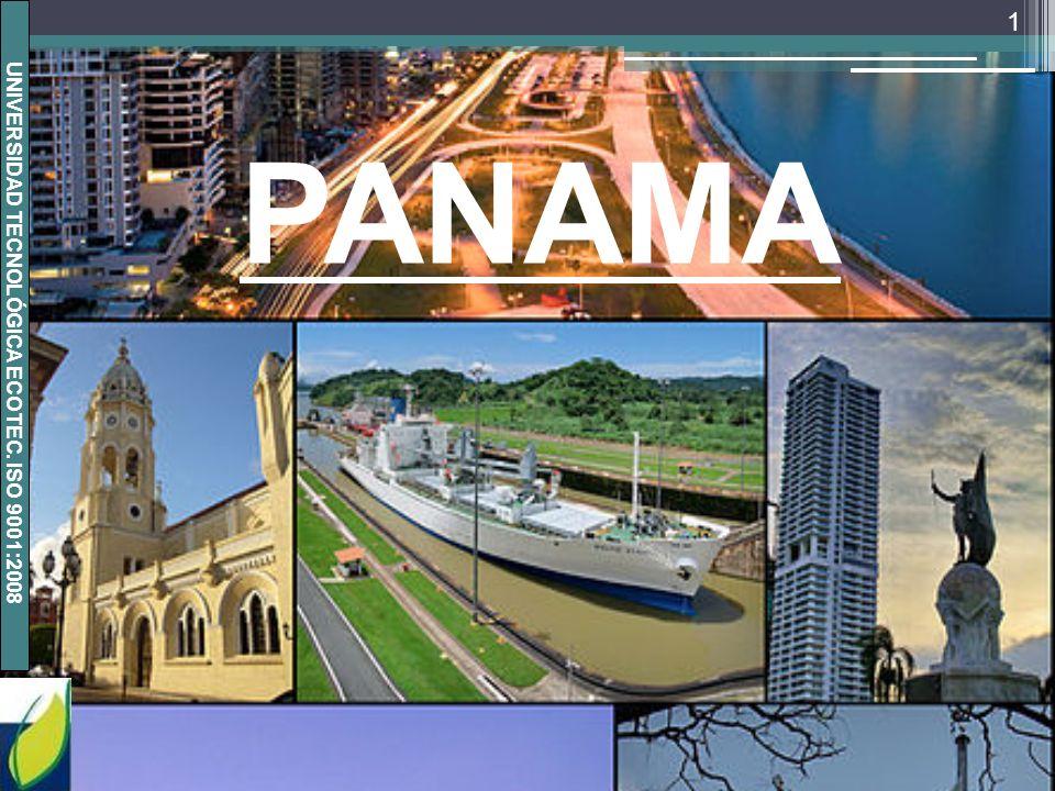UNIVERSIDAD TECNOLÓGICA ECOTEC. ISO 9001:2008 1 PANAMA