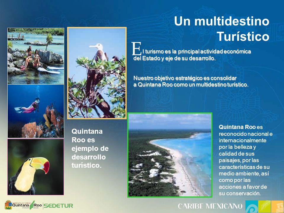 Quintana Roo es ejemplo de desarrollo turístico.