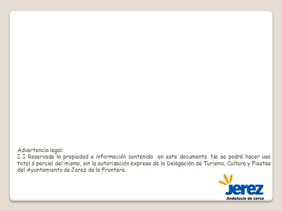 Advertencia legal: Reservada la propiedad e información contenida en este documento. No se podrá hacer uso total ó parcial del mismo, sin la autorizac