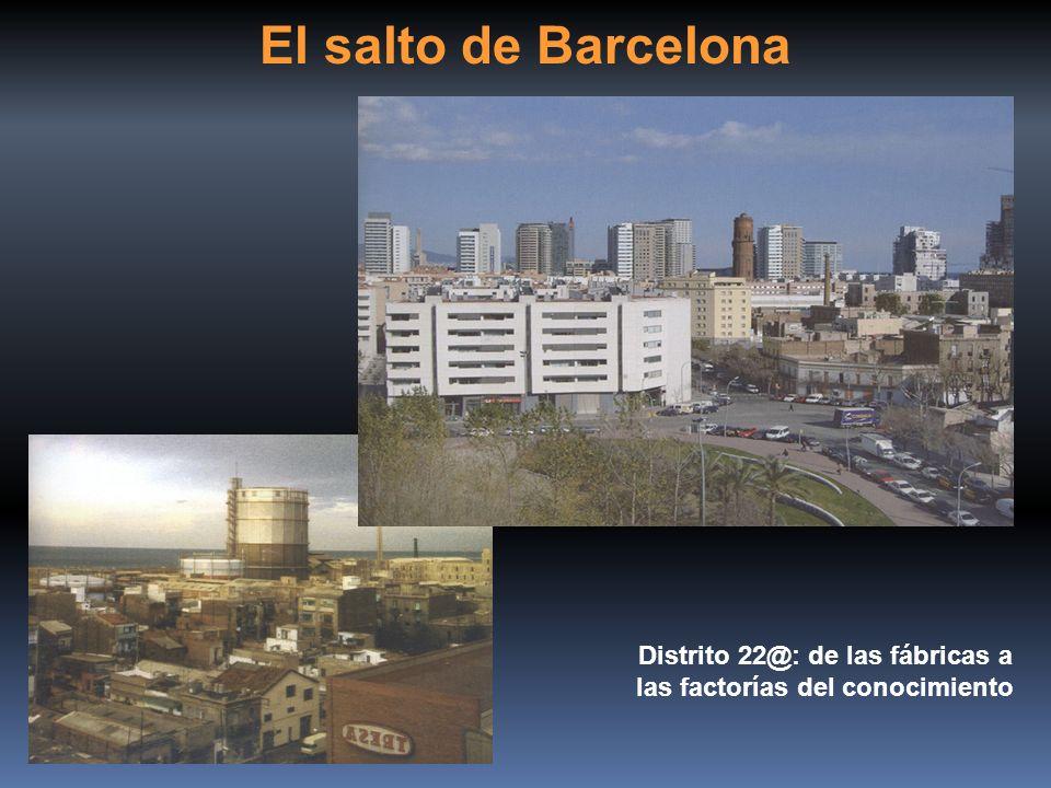 El salto de Barcelona Distrito 22@: de las fábricas a las factorías del conocimiento