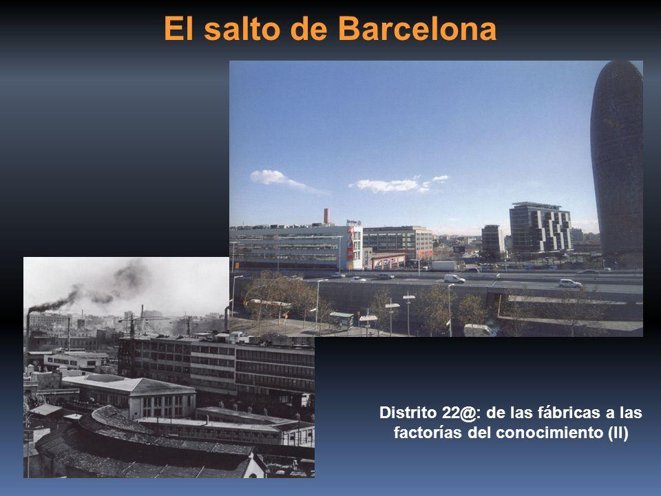 El salto de Barcelona Distrito 22@: de las fábricas a las factorías del conocimiento (II)