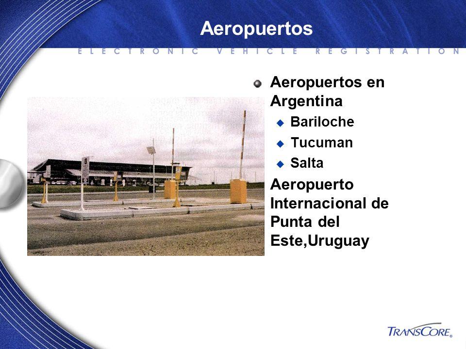 Aeropuertos en Argentina Bariloche Tucuman Salta Aeropuerto Internacional de Punta del Este,Uruguay Aeropuertos