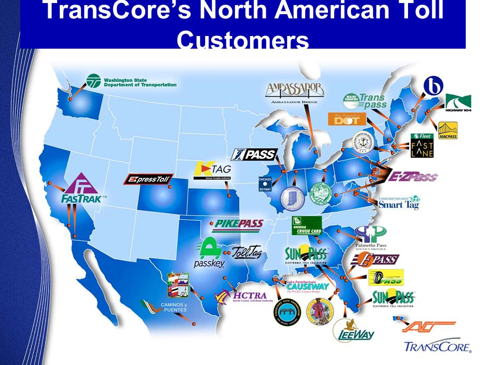 TransCores North American Toll Customers