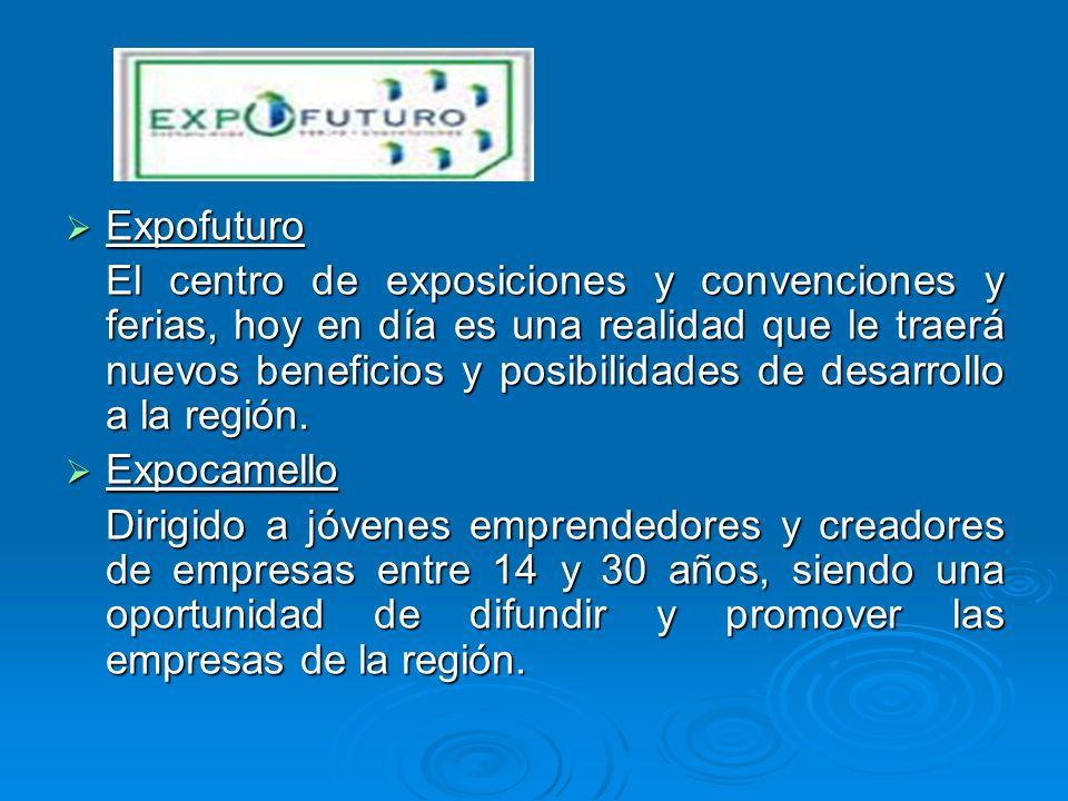 Expofuturo Expofuturo El centro de exposiciones y convenciones y ferias, hoy en día es una realidad que le traerá nuevos beneficios y posibilidades de
