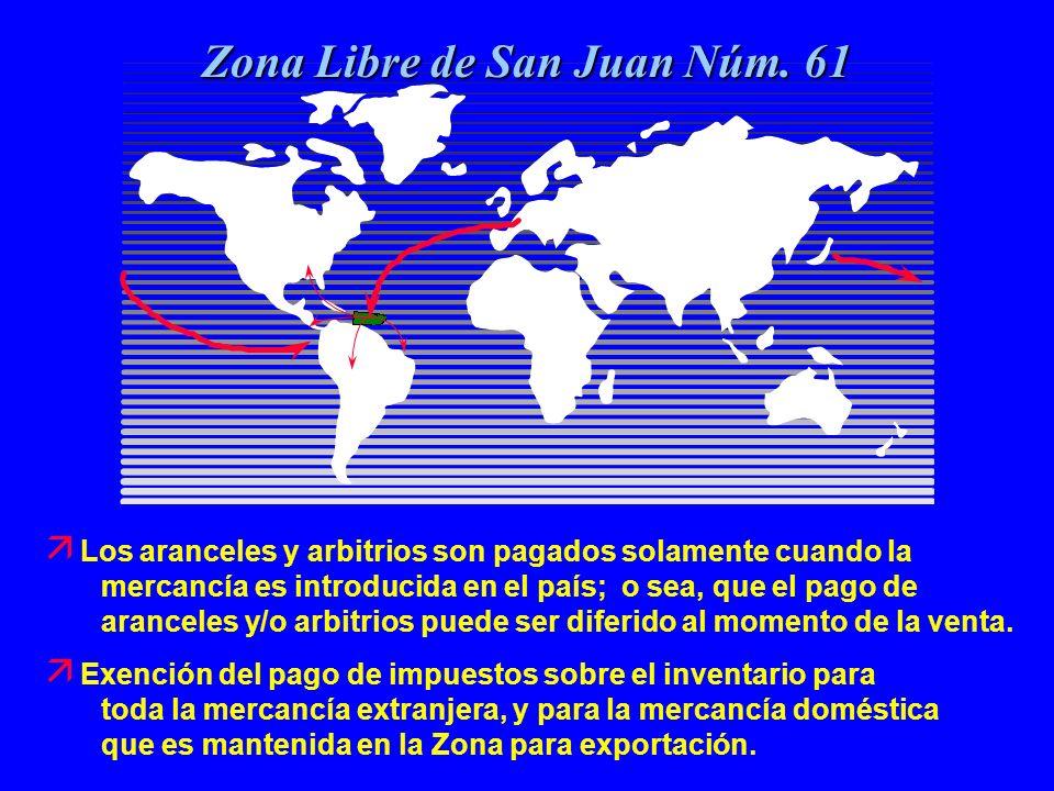 14 Zona Libre de San Juan Núm.