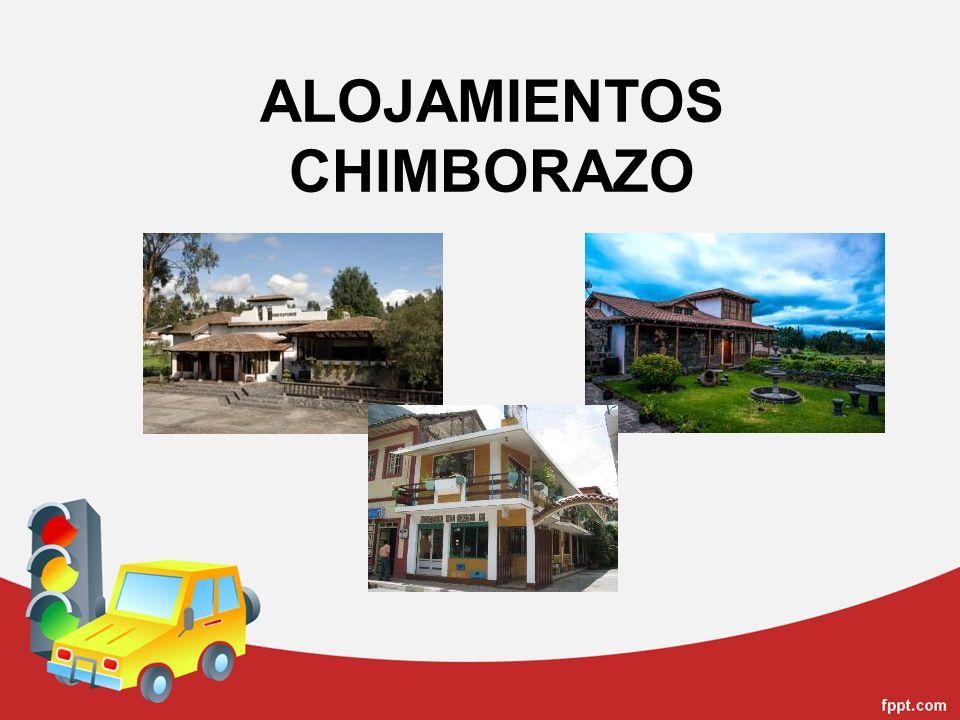 ALOJAMIENTOS CHIMBORAZO