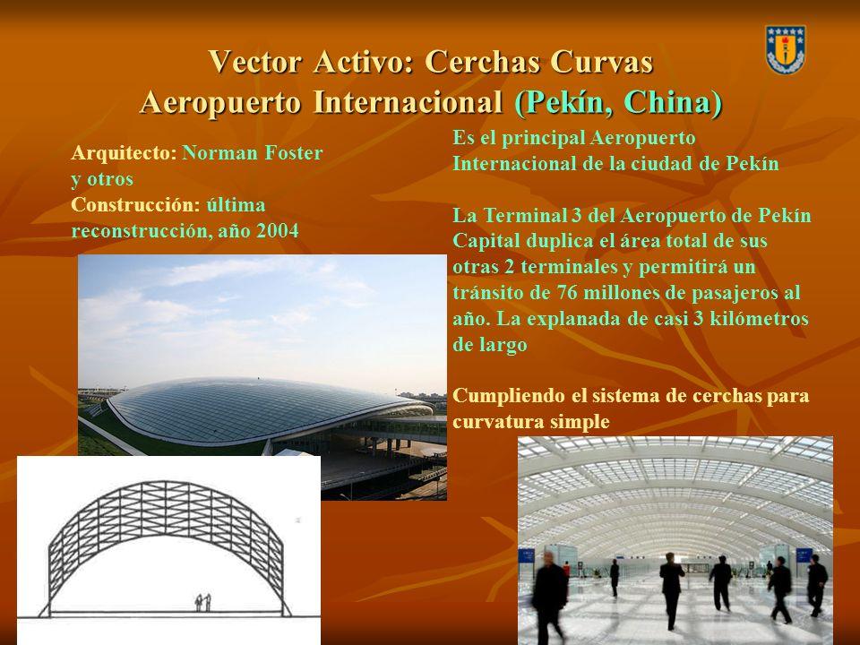 Vector Activo: Cerchas Curvas Aeropuerto Internacional (Pekín, China) Es el principal Aeropuerto Internacional de la ciudad de Pekín La Terminal 3 del