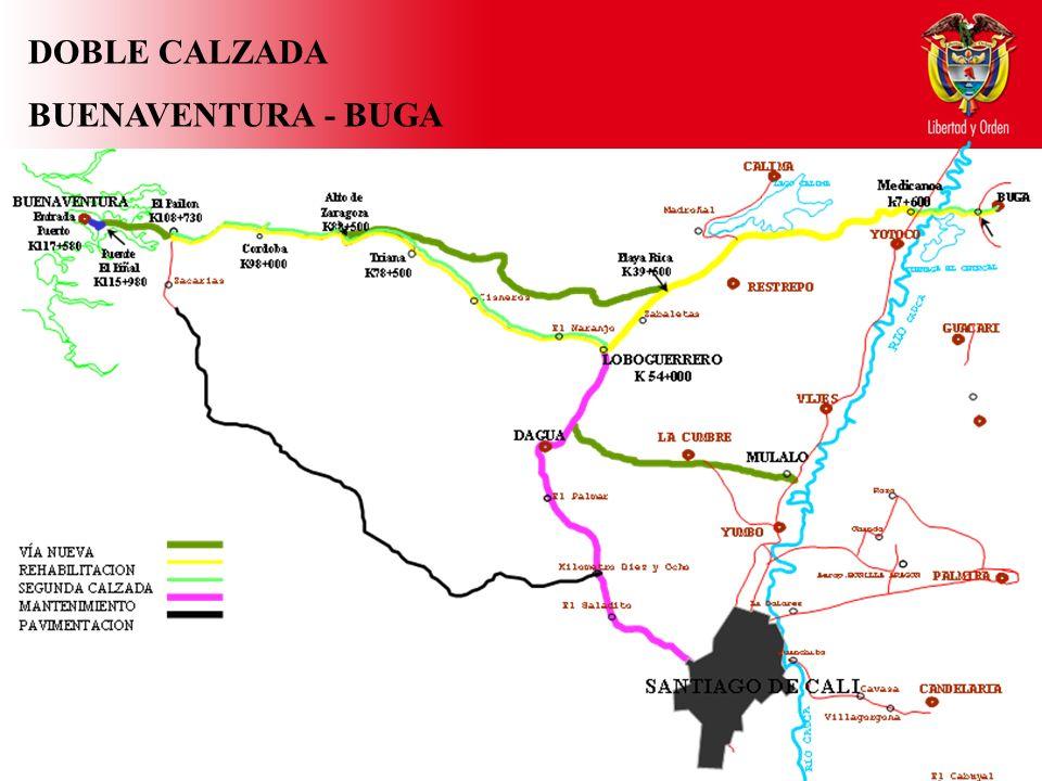DOBLE CALZADA BUENAVENTURA - BUGA