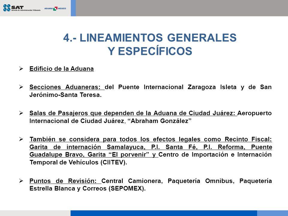 Edificio de la Aduana Secciones Aduaneras: del Puente Internacional Zaragoza Isleta y de San Jerónimo-Santa Teresa. Salas de Pasajeros que dependen de