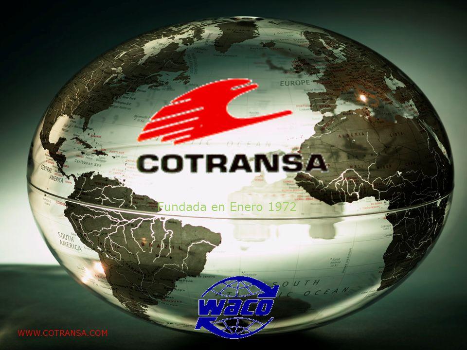 Presentación clientes Febrero 2008 Fundada en Enero 1972 WWW.COTRANSA.COM