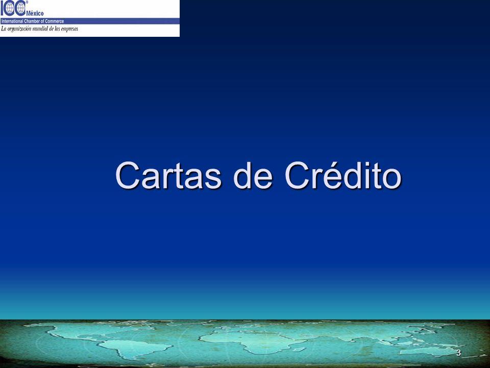 3 Cartas de Crédito