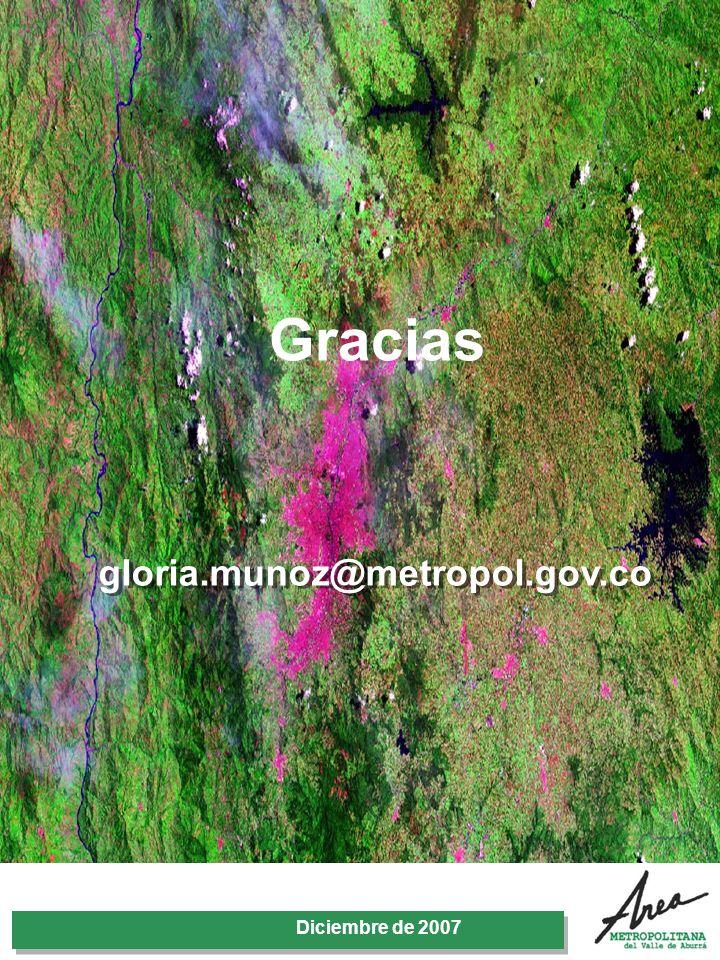 31 Octubre 2007 Gracias Diciembre de 2007 gloria.munoz@metropol.gov.co
