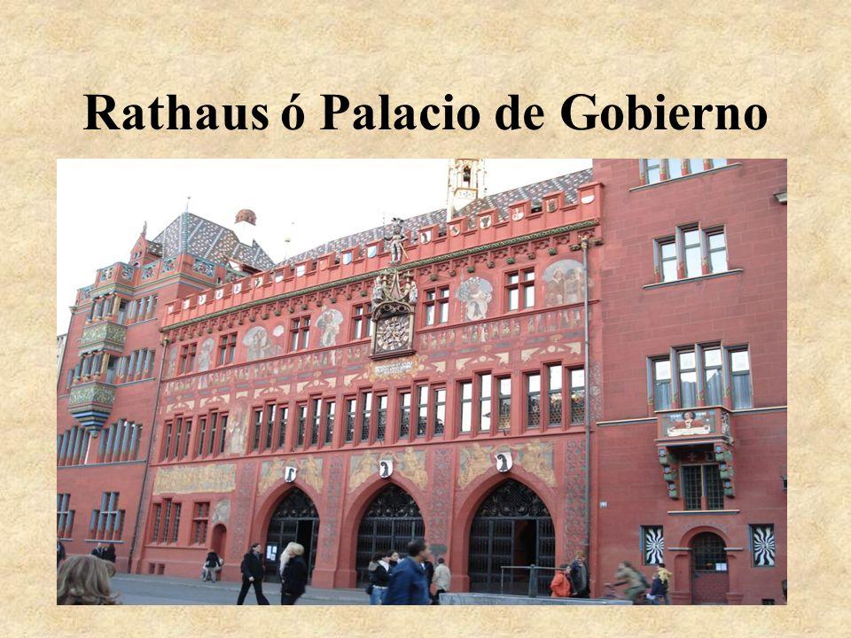 Rathaus ó Palacio de Gobierno