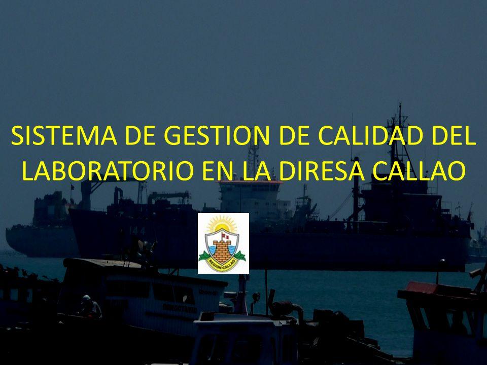 SISTEMA DE GESTION DE CALIDAD DEL LABORATORIO EN LA DIRESA CALLAO