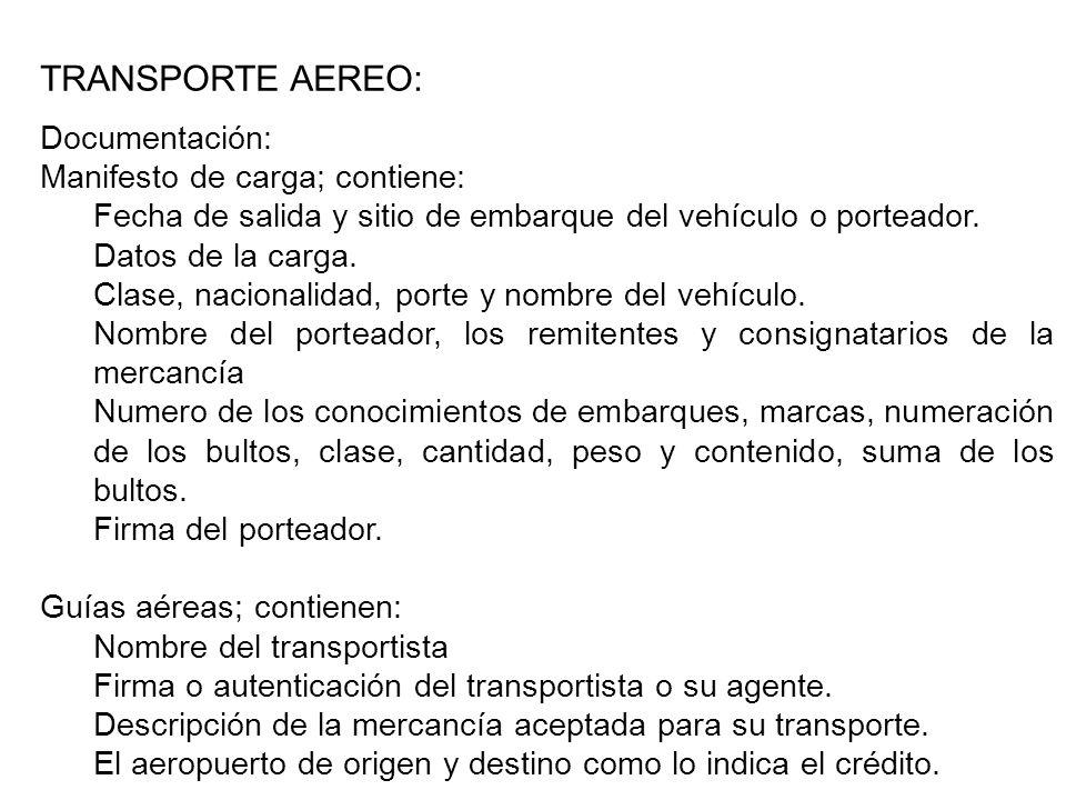 Regulación Aduanera del Transporte de Mercancías La legislación aduanera contiene algunas regulaciones específicas que recaen sobre las actividades que cumplen los operadores de transporte.