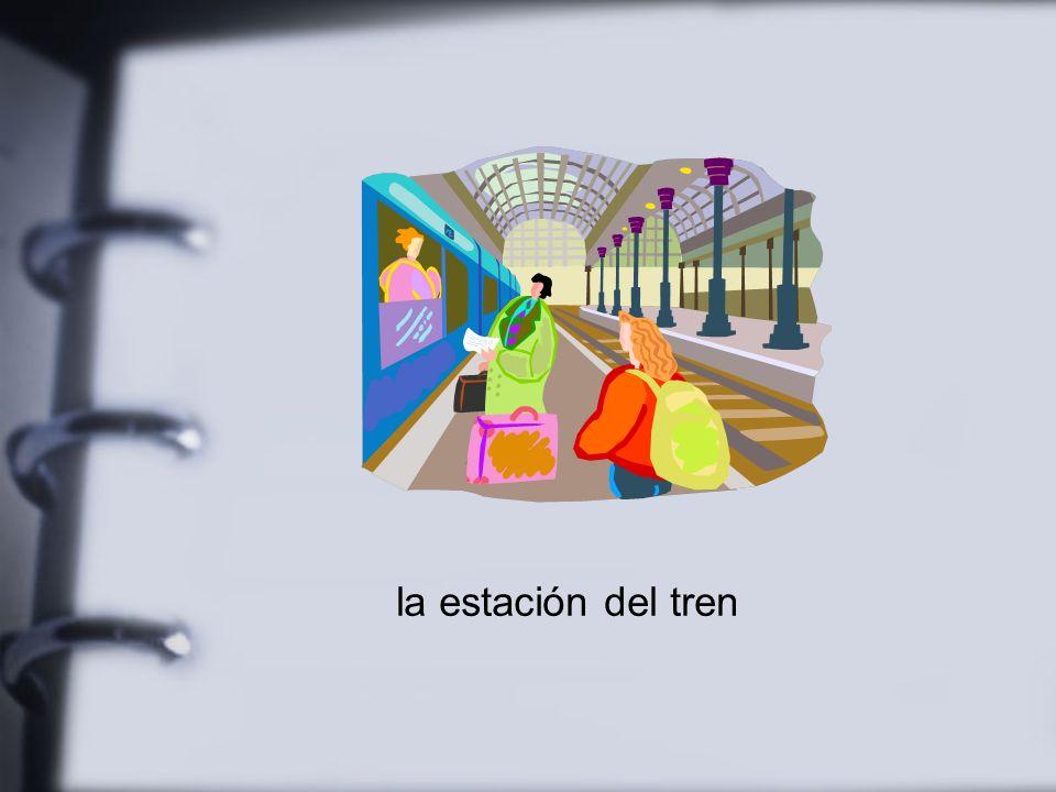 la estación del tren