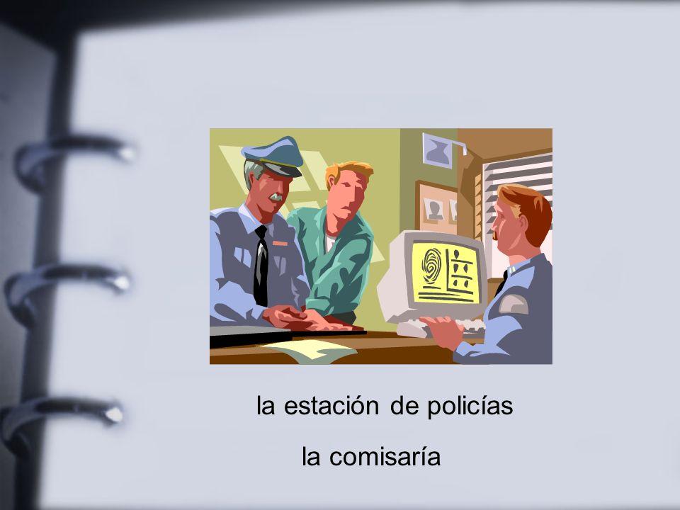 la estación de policías la comisaría