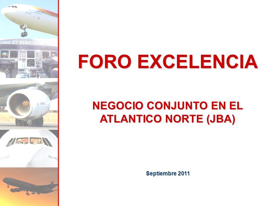 FORO EXCELENCIA NEGOCIO CONJUNTO EN EL ATLANTICO NORTE (JBA) Septiembre 2011