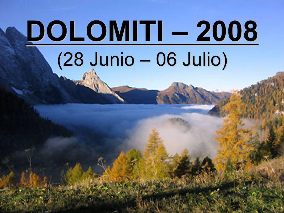 7ª ETAPA: CORTINA – CANAZEI - BOLZANO 118 Km.Cortina – Paso Falzarego (2.117 m.