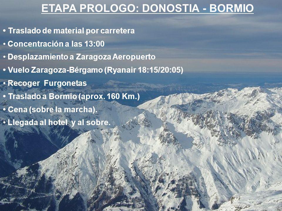 5ª ETAPA – TRE CROCI (2.239 m.) IGOERA - CORTINATIK