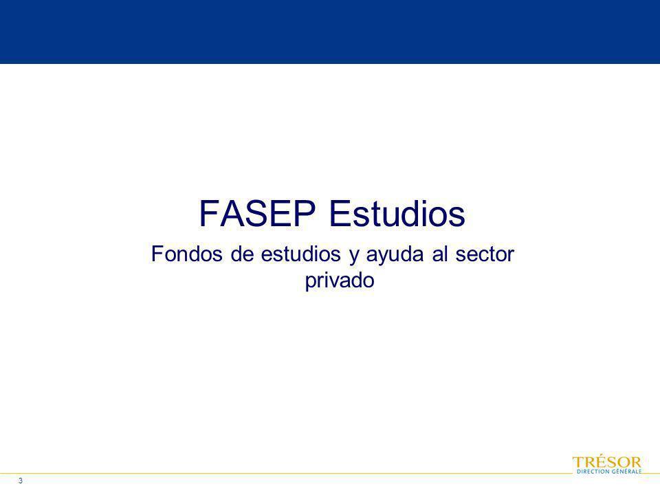3 FASEP Estudios Fondos de estudios y ayuda al sector privado