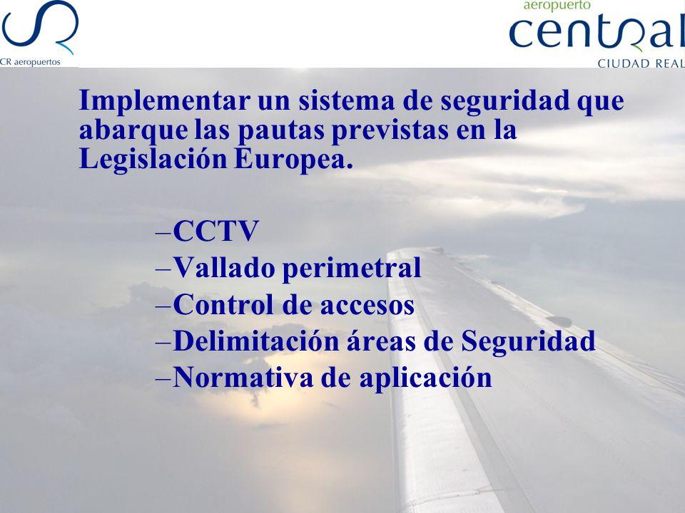 Hitos de seguridad Programa Local de Seguridad Convenio de colaboración entre el Aeropuerto y el Ministerio Interior Declaración de frontera internacional Schengen