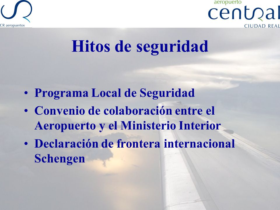 Muchas gracias Antonio Sabán Director de Seguridad asaban@aeropuertocr.com