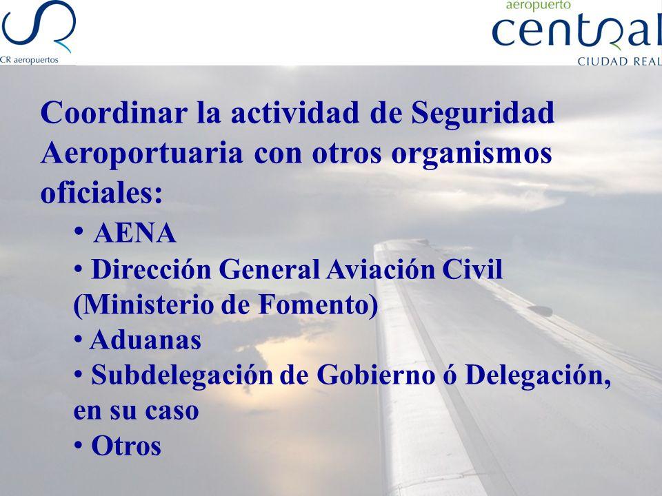 Dependencias policiales y de Guardia Civil en el Aeropuerto: Oficinas Cabinas Control de Pasaportes Sala No Admitidos Etc..