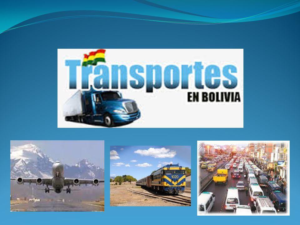 TERRESTRE La Paz esta comunicada por las carreteras de Oruro, por donde se accede a Sucre, Potosi.