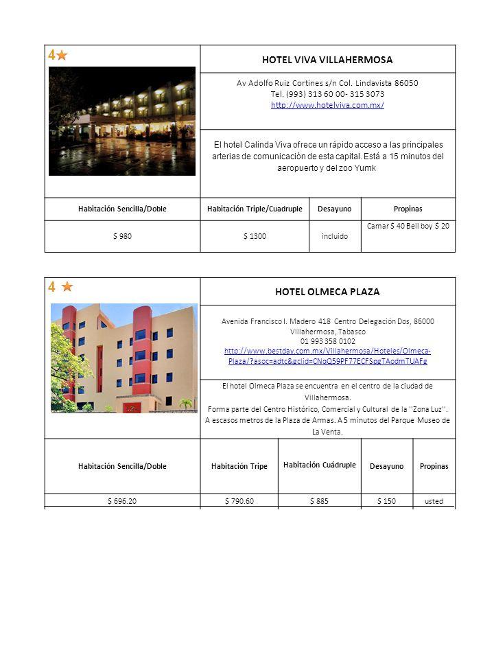 4 HOTEL BEST WESTERN MAYA TABASCO Av.Adolfo Ruiz Cortines No.