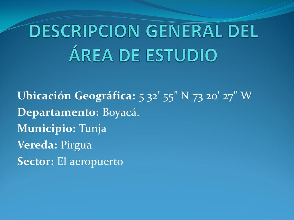 Región natural: Región andina Subregión: Altiplano cundiboyacense Cuenca Hidrográfica: Afluentes de la cuenca alta del río Chicamocha.