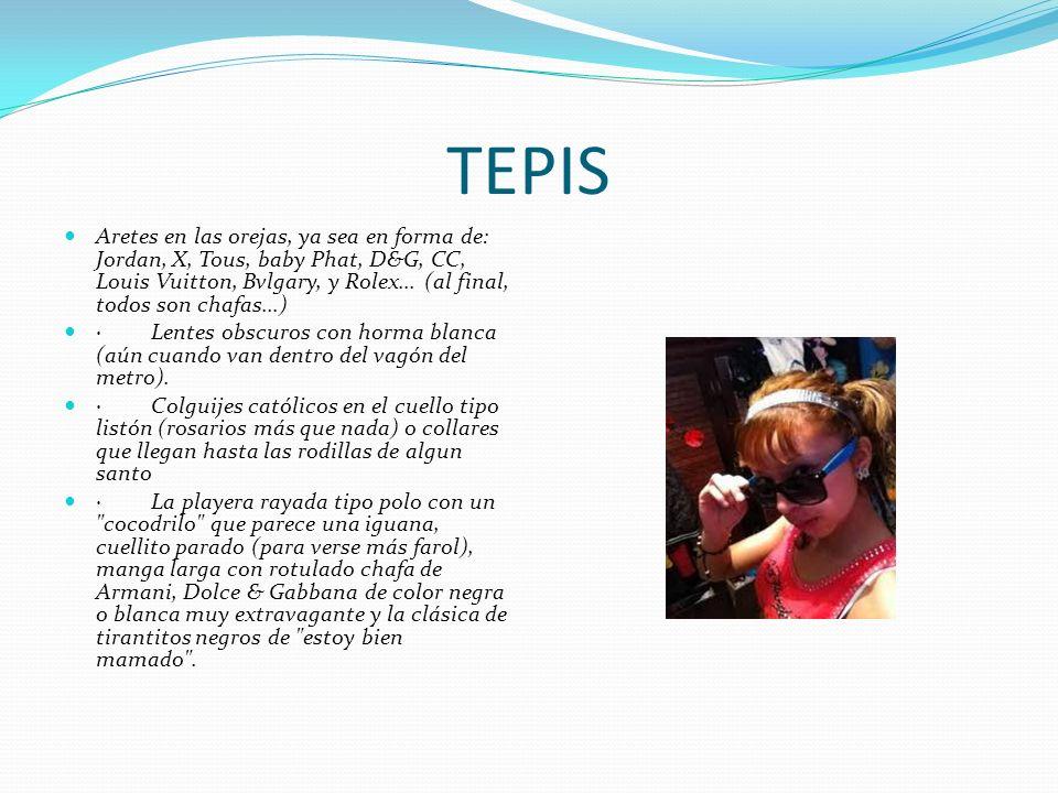 TEPIS Aretes en las orejas, ya sea en forma de: Jordan, X, Tous, baby Phat, D&G, CC, Louis Vuitton, Bvlgary, y Rolex... (al final, todos son chafas...