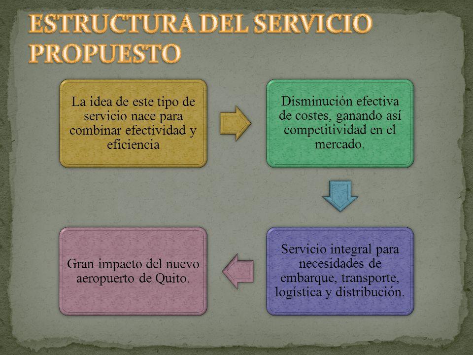 La idea de este tipo de servicio nace para combinar efectividad y eficiencia Disminución efectiva de costes, ganando así competitividad en el mercado.