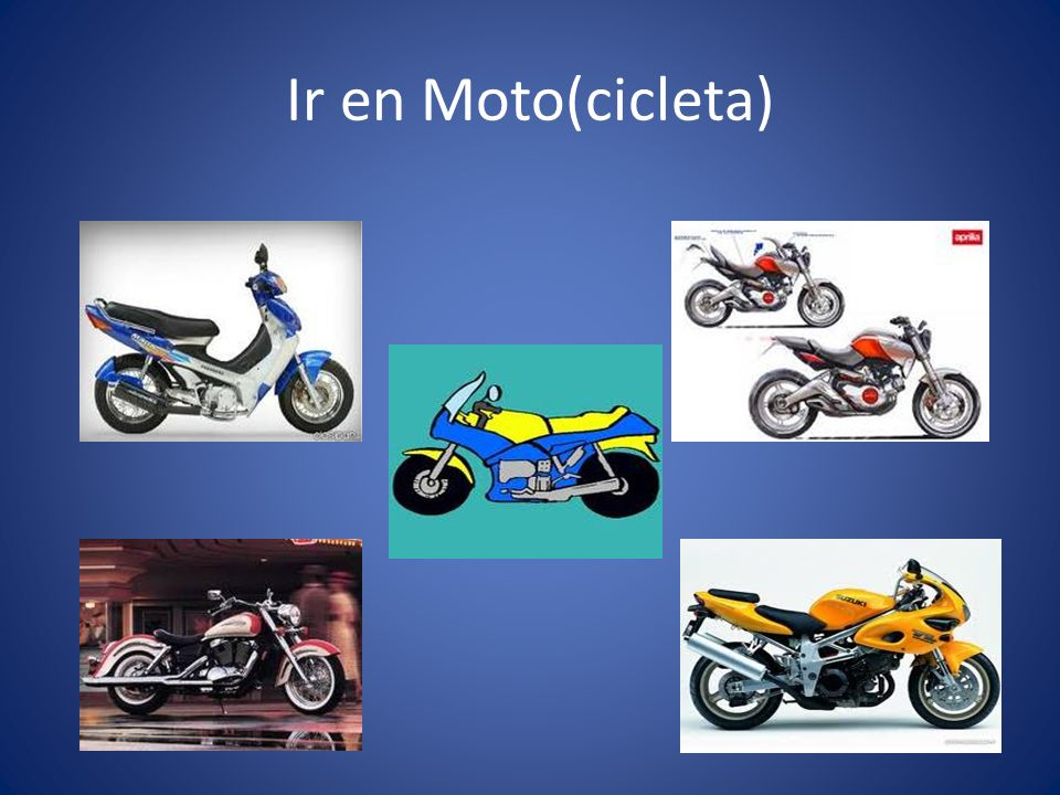 Ir en Moto(cicleta)