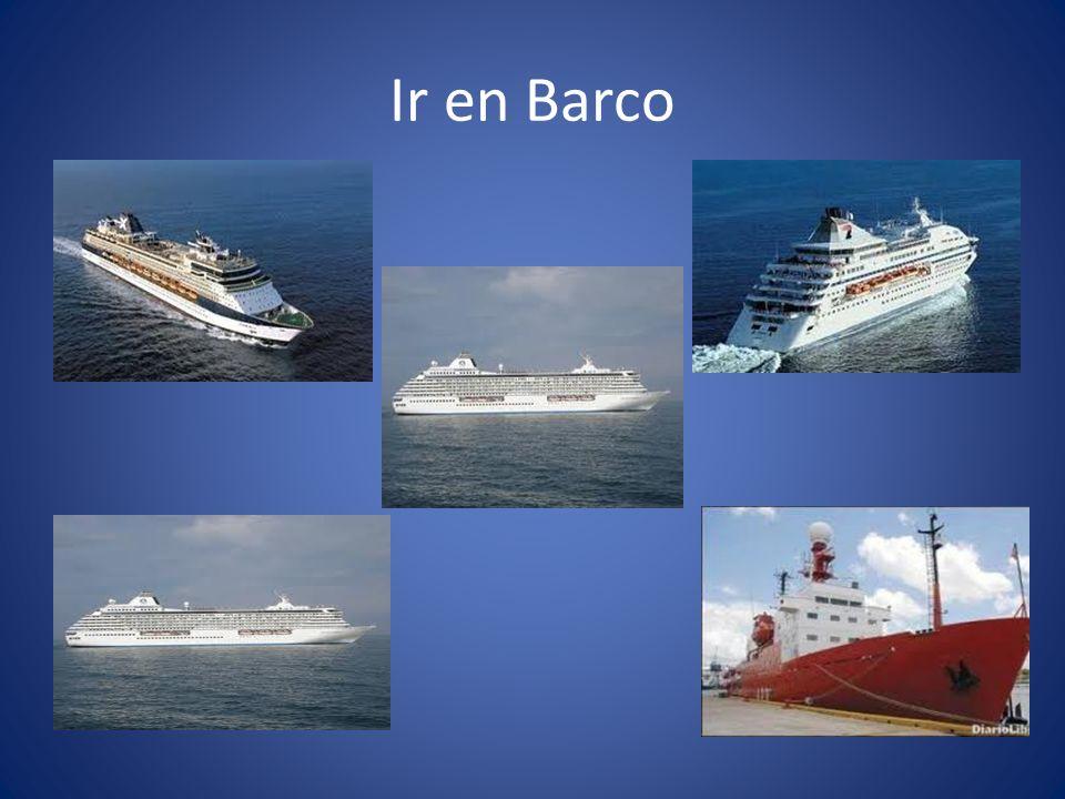 Ir en Barco