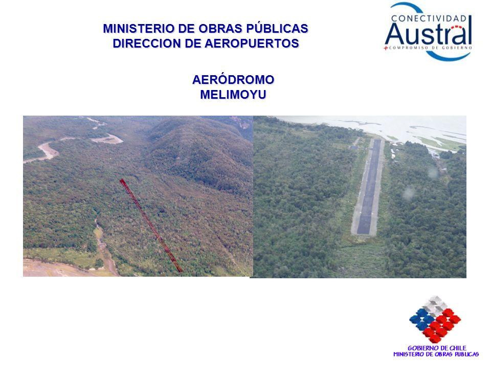 MINISTERIO DE OBRAS PÚBLICAS DIRECCION DE AEROPUERTOS AERÓDROMO MELIMOYU