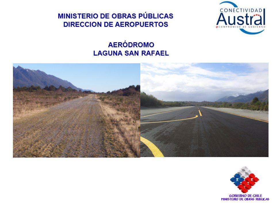 MINISTERIO DE OBRAS PÚBLICAS DIRECCION DE AEROPUERTOS AERÓDROMO LAGUNA SAN RAFAEL