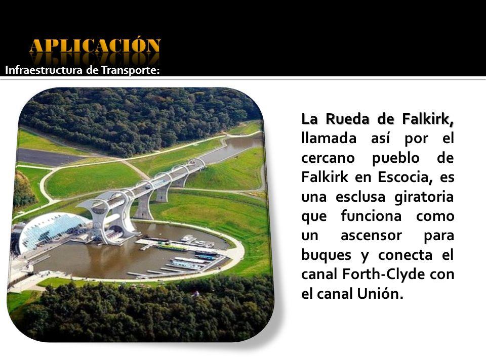 La Rueda de Falkirk, La Rueda de Falkirk, llamada así por el cercano pueblo de Falkirk en Escocia, es una esclusa giratoria que funciona como un ascen