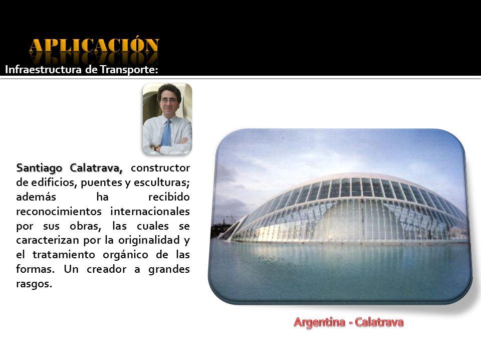 Santiago Calatrava, Santiago Calatrava, constructor de edificios, puentes y esculturas; además ha recibido reconocimientos internacionales por sus obr
