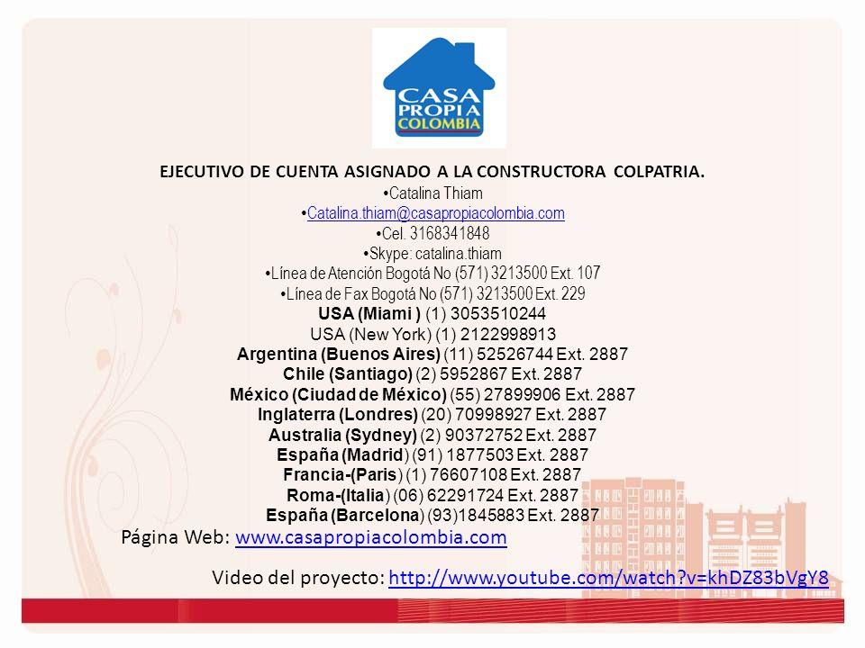 Página Web: www.casapropiacolombia.comwww.casapropiacolombia.com Video del proyecto: http://www.youtube.com/watch?v=khDZ83bVgY8http://www.youtube.com/