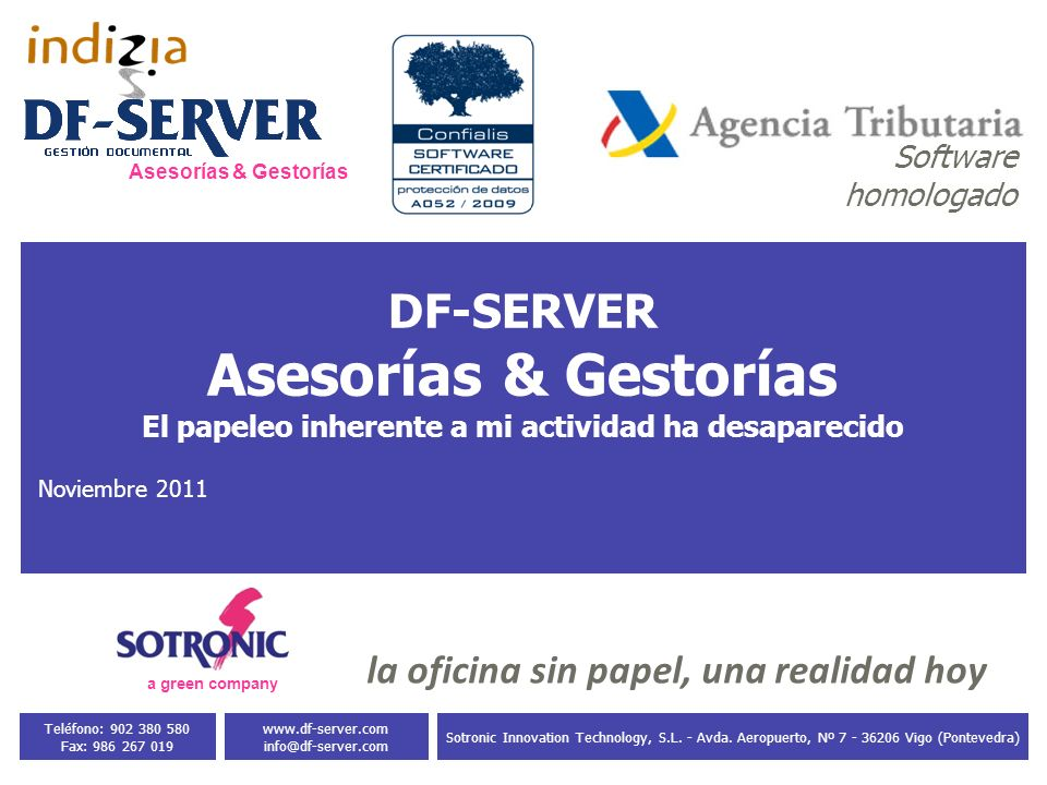 - paper is + life 3 Sotronic Innovation Technology, S.L.