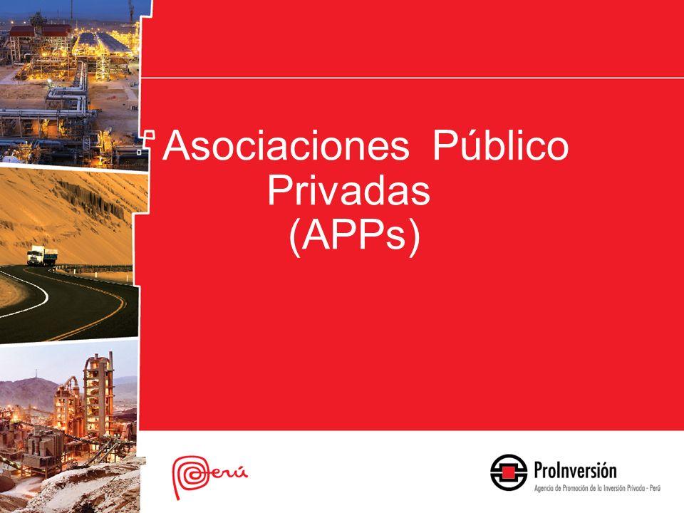 Asociaciones Público Privadas (APPs)