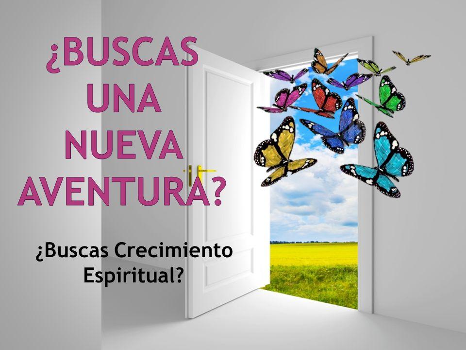 ¿Buscas Crecimiento Espiritual
