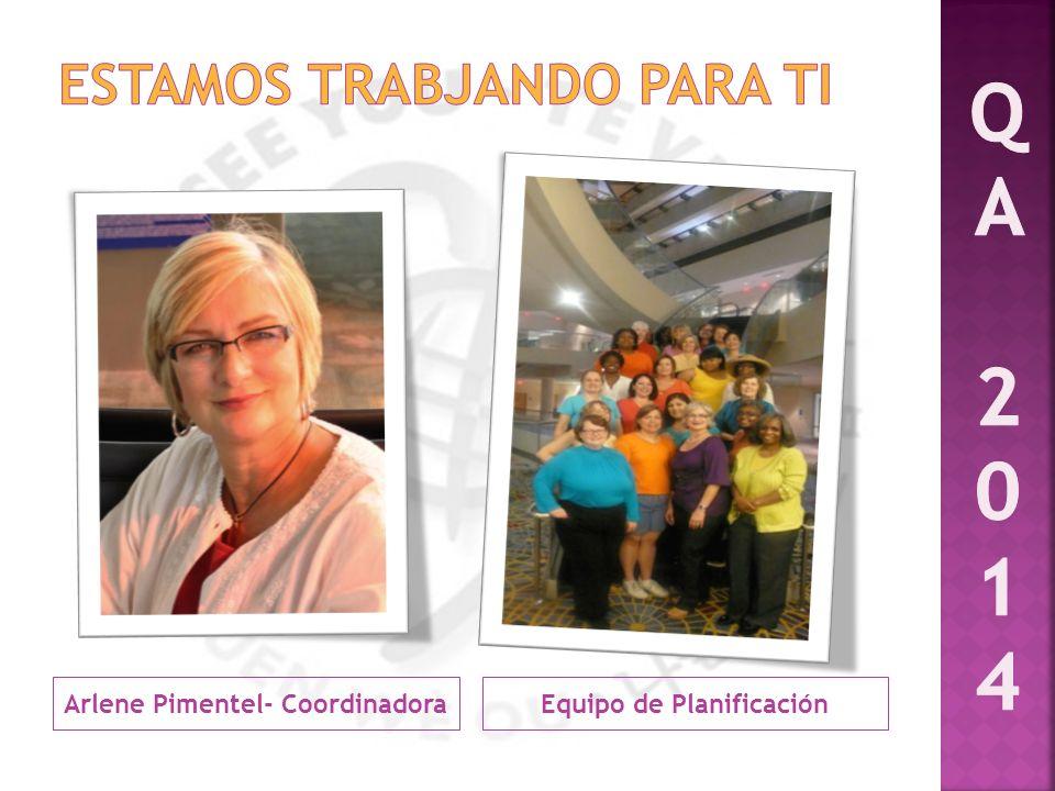 Arlene Pimentel- CoordinadoraEquipo de Planificación