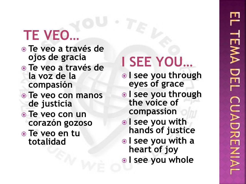 Miércoles, 25 de junio- I see you through eyes of Grace the Rev.