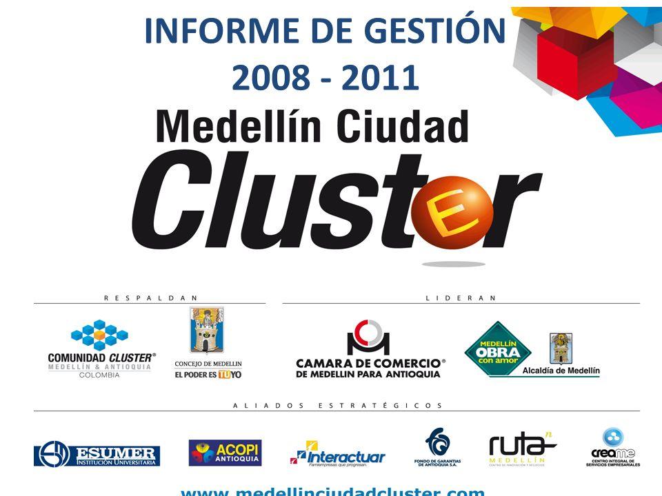 Durante el año 2010 se realizó la formulación del Plan de ciencia, tecnología e innovación (CTi), el cual define los proyectos de ciudad a cinco años que determinarán la hoja de ruta para el desarrollo de la CTi en Medellín y la región.