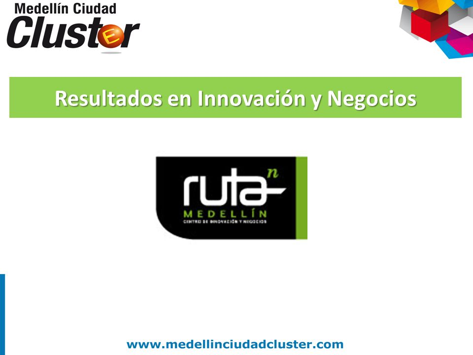Resultados en Innovación y Negocios
